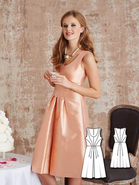 Bridesmaid Dresses: 10 New Women\'s Sewing Patterns – Sewing Patterns ...
