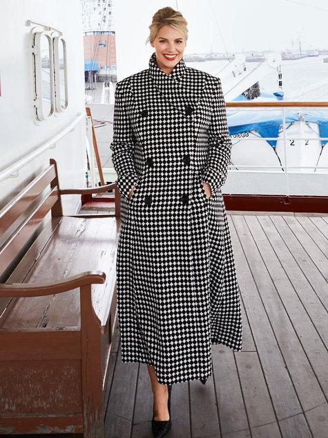 3fb60c8a580 Long Pea Coat (Plus Size) 09 2016  138 – Sewing Patterns ...