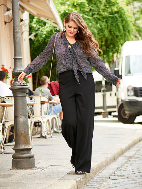 5ae9fe956f5 Wide Leg Trousers (Plus Size) 11 2016  130 – Sewing Patterns ...