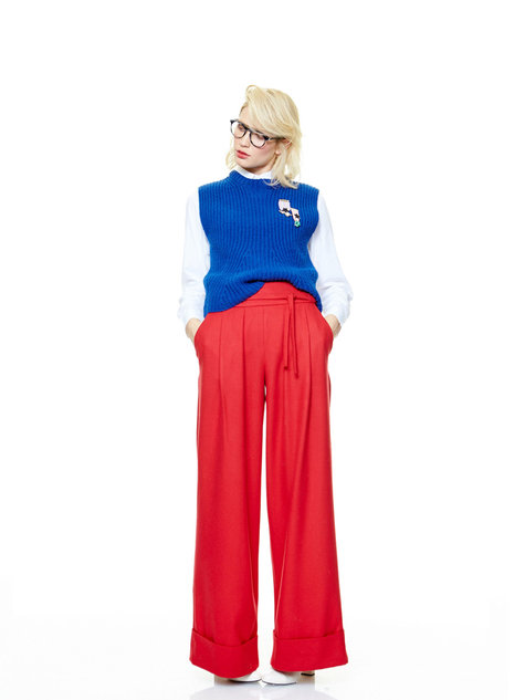 Extra Wide Leg Trousers 112016 119 Sewing Patterns Burdastyle