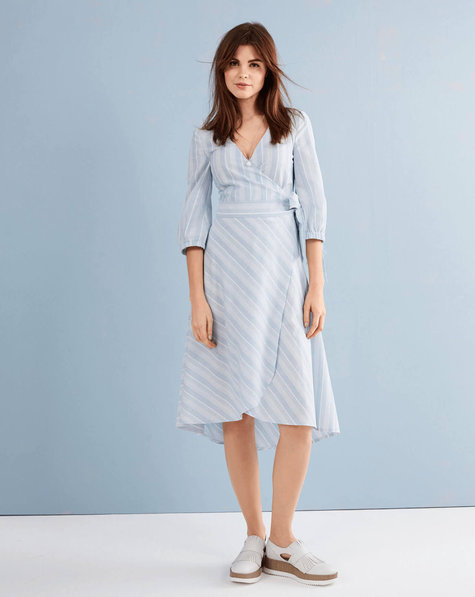 Wrap Dress 05/2017 #112B – Sewing Patterns | BurdaStyle.com