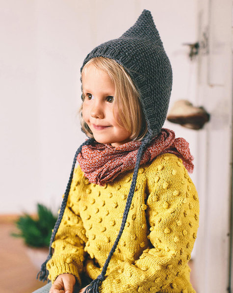 Childrens Knitted Hat 102018 136 Sewing Patterns Burdastyle