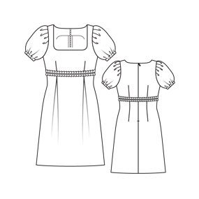 Danielle 9306 Sewing Patterns Burdastyle Com