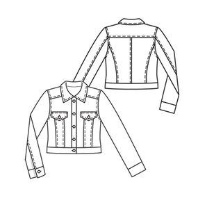 Cropped Denim Jacket 02/2010 #109