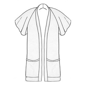 Flutter_sleeve_line_drawing_large