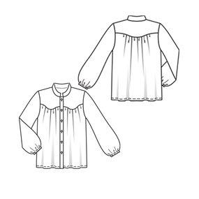 Long Sleeve Blouse 5/2010 #118