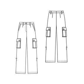 Cargo Pants 04/2010 #118 – Sewing Patterns | BurdaStyle.com