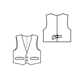 Knits Sweater Sketches as well Crochet Vest Pattern Free For Women furthermore Sewing patterns in addition Free Bolero Patterns likewise T Shirt Sewing Patterns 500 501 502 1501 1502. on easy vest pattern for women