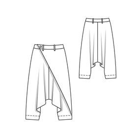 Wrap Trousers 07/2010 #109B