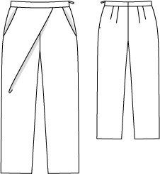 de60d8f3fc6 Wrap Pants (Plus Size) 08 2010  137 – Sewing Patterns