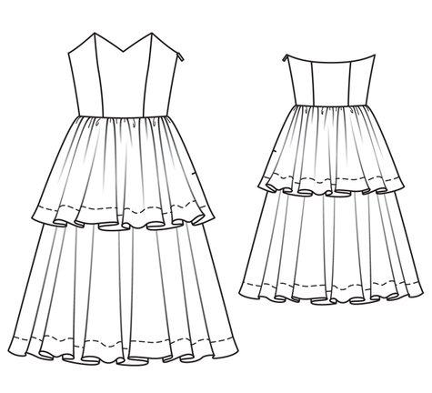 Strapless Tea Length Wedding Dress 03/2011 #101A