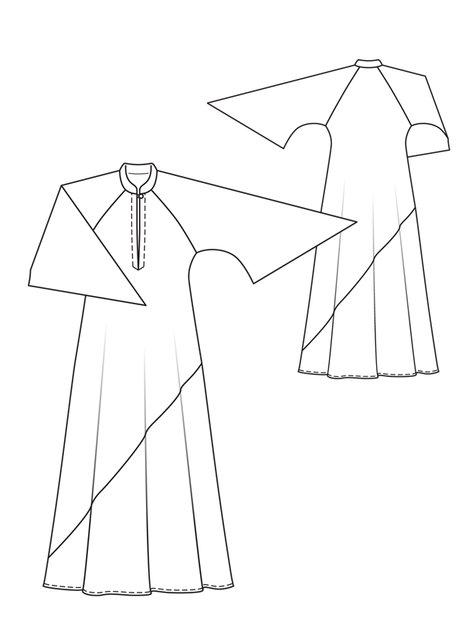 Fancy Kaftan Sewing Patterns Festooning - Knitting Pattern Ideas ...