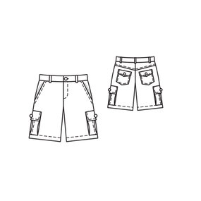 Bermuda Shorts for Boys 06/2011 #135A