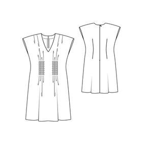 Dress with Pin Tucks (Plus Size) 07/2011 #138