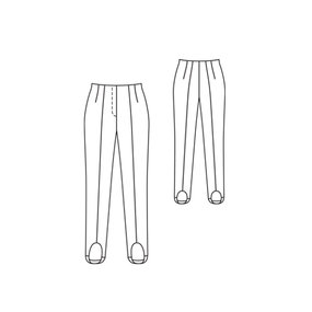 Stretch Pants with Stirrups 10/2011 #113