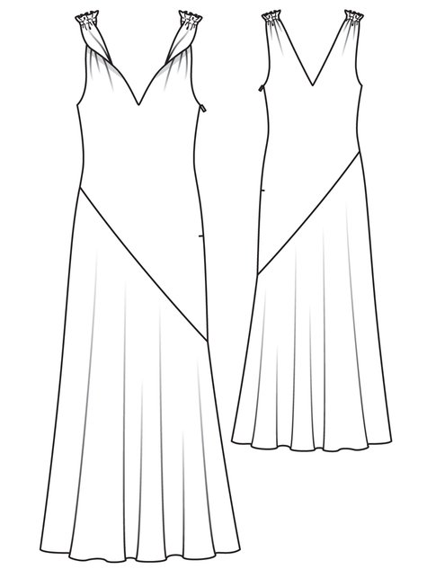 Satin Evening Gown 12/2011 #123