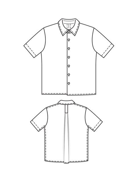 Hawaiian Shirt Sewing Pattern Free