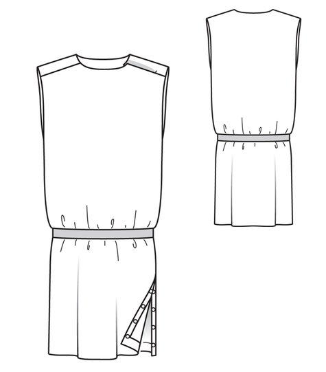 Side Slit Dress 07/2012 #107