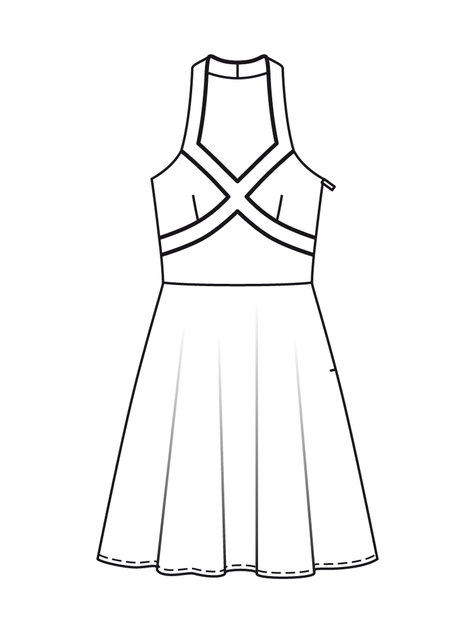 50s Halter Dress 07/2012 #133