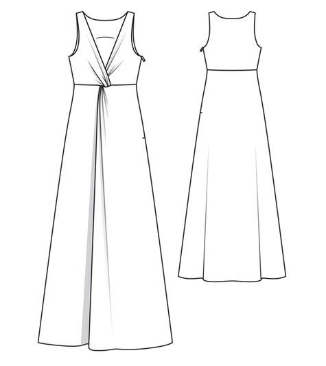 Knot Front Wedding Dress 03/2012 #108C