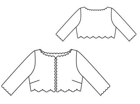 Lace Bolero (Plus Size) 02/2012 #136 – Sewing Patterns | BurdaStyle.com