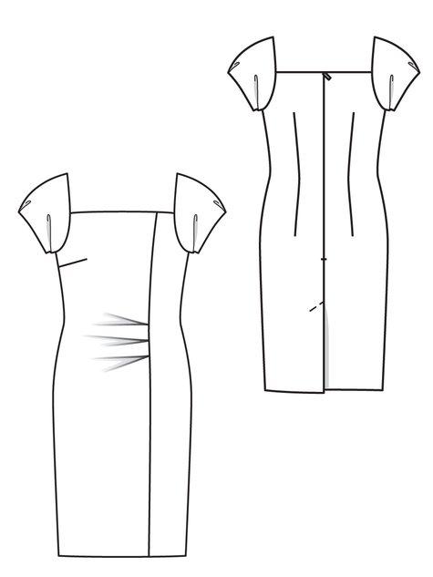 Puff Sleeve Dress 07/2012 #131
