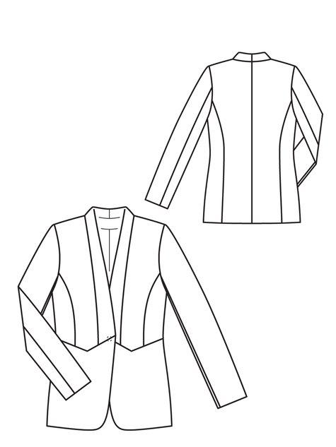 Shawl Collar Jacket 08/2012 #137