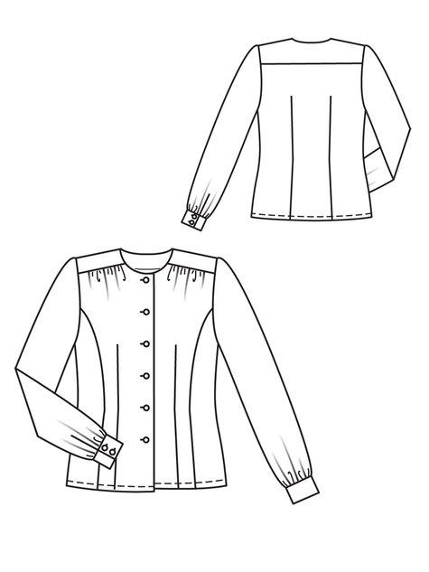 silk blouse 09  2012  111  u2013 sewing patterns