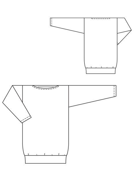 Sweatshirt Plus Size 6060 60 Sewing Patterns BurdaStyle Impressive Sweatshirt Pattern