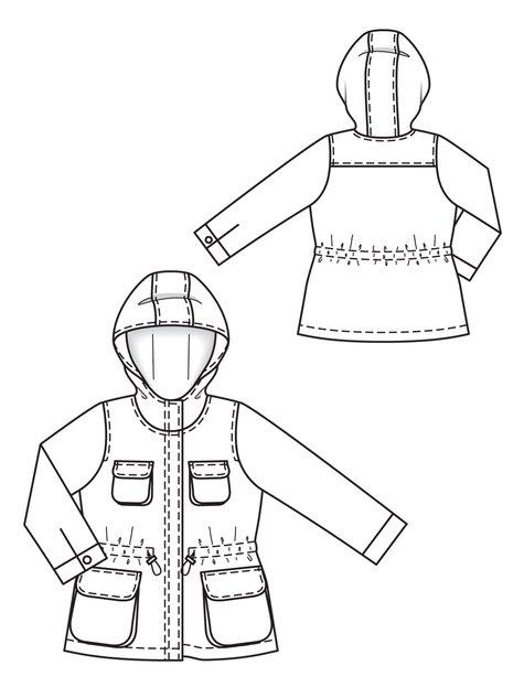be4ef344c Children s Parka 10 2012  153 – Sewing Patterns