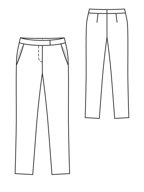 Straight Trousers 11/2012 #107B