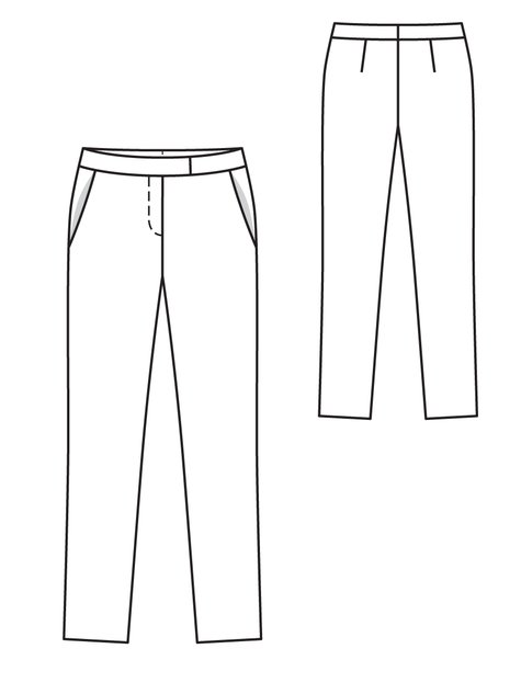 Narrow Trousers 11/2012 #107A
