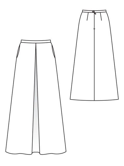Inverted Maxi-Skirt 11/2012 #126