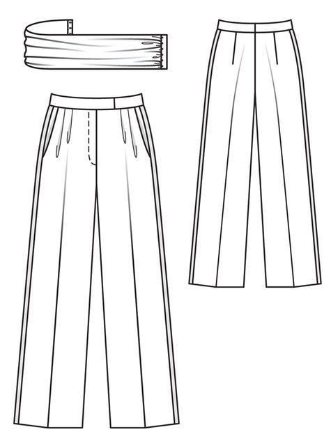 Marlene Trousers 11/2012 #130