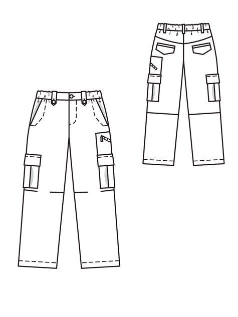 Boy's Cargo Trousers 10/2011 #144