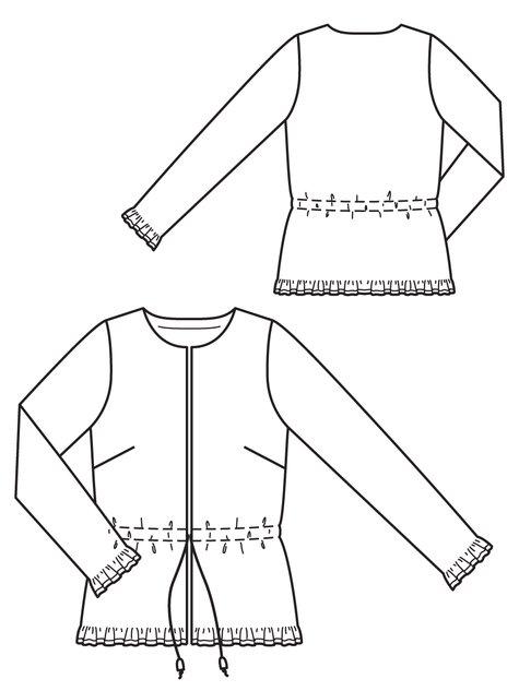 Drawstring Jacket 12/2012 #121