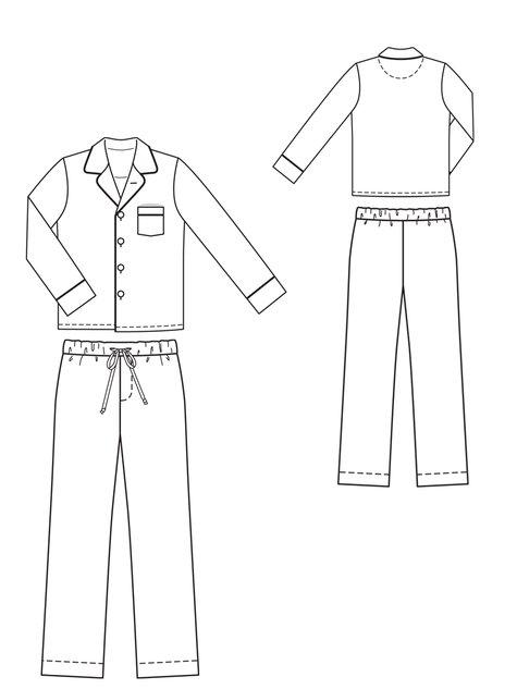 Men's Pajama Set with Boxers 12/2010 #134