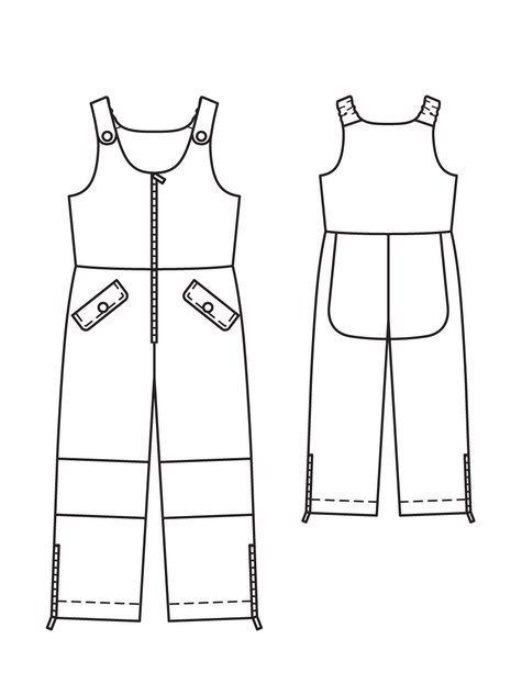 9639d1ded Children s Overalls 11 2011  139 – Sewing Patterns
