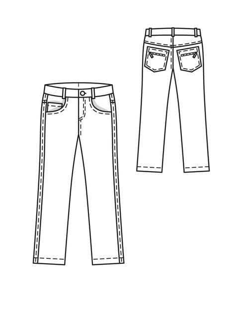 Boy's Skinny Jeans 11/2010 #146A