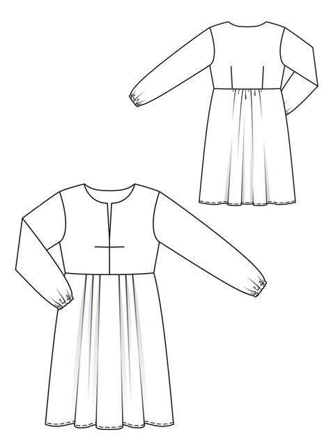 Clean-Cut Dress (Plus Size) 01/2013 #133B