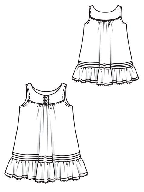 Girl's Underdress 05/2012 #147