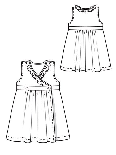 Girl's Wrap Dress 05/2012 #143