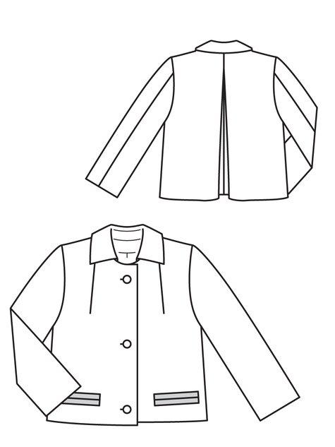 Short Jacket 08/2011 #128