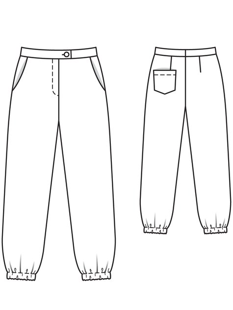 Print Trousers 02/2013 #108B
