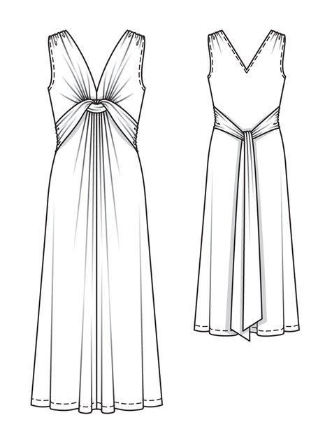 Twisted Maxi-Dress 02/2013 #115