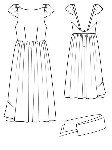 Open Back Dress 03/2013 #111