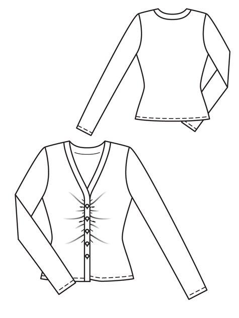 Lace Jacket 03/2013 #107B