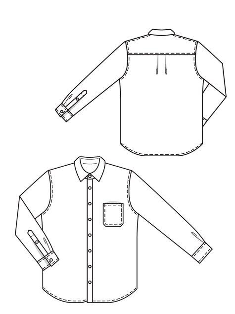 Men's Chambray Shirt 04/2013 #138