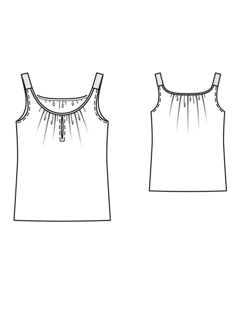 Embroidered Tank 05/2013 #101