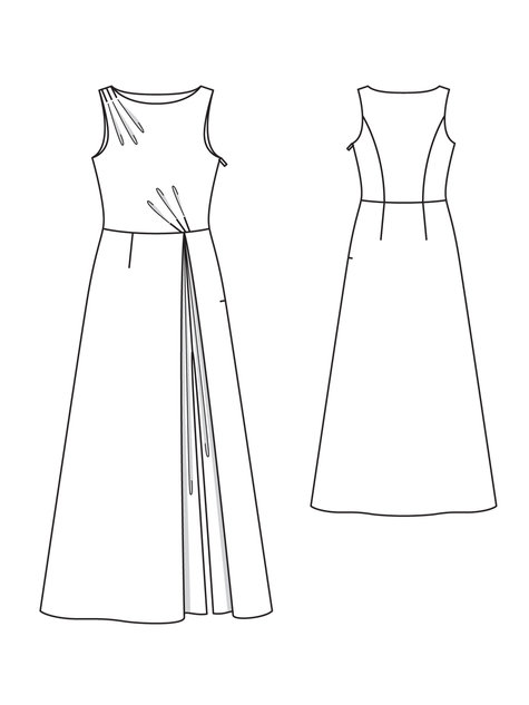 Slitted Gown 06/2013 #103